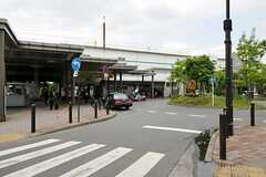 JR武蔵野線・新座駅の様子。(2012-05-30,共用部,ENVIRONMENT,1F)