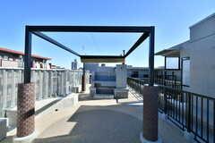 屋上にはBBQスペースがあります。(2020-02-02,共用部,OTHER,4F)