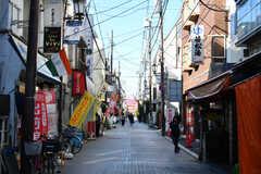 JR京浜東北線・北浦和駅からシェアハウスへ向かう途中にある商店街。(2020-02-02,共用部,ENVIRONMENT,1F)