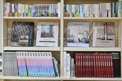 多目的ルームの本棚3。(2020-03-10,共用部,OTHER,1F)