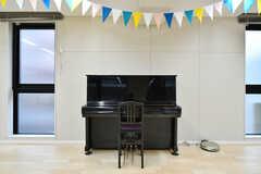 多目的ルームのピアノ。(2020-03-10,共用部,LIVINGROOM,1F)