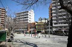 シェアハウス周辺の公園。(2009-02-17,共用部,ENVIRONMENT,1F)