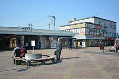 JR武蔵野線・東浦和駅の様子。(2016-02-09,共用部,ENVIRONMENT,1F)