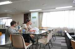 外国人の入居者さんも多めです。(2013-04-18,共用部,PARTY,1F)