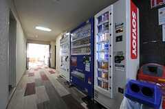 SOYJOYの自動販売機もあります。(2013-04-18,共用部,OTHER,1F)