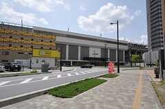 JR埼京線・北戸田駅の様子。(2013-04-18,共用部,ENVIRONMENT,1F)