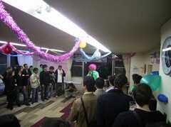 パーティーの様子。(2008-05-16,共用部,PARTY,1F)