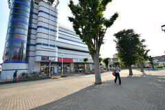 JR・土呂駅前の様子。(2017-05-29,共用部,ENVIRONMENT,1F)