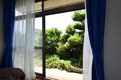 庭の様子。(101号室)(2016-06-11,専有部,ROOM,1F)