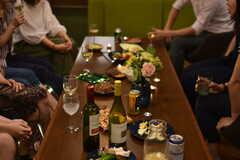 ナイトパーティーの様子。(2018-06-09,共用部,PARTY,1F)