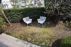 庭の様子。自由に使えます。(2015-04-16,共用部,OTHER,1F)