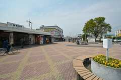 JR武蔵野線・東浦和駅前の様子2。(2015-04-16,共用部,ENVIRONMENT,1F)