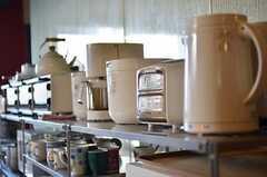 キッチン家電の様子。(2012-01-07,共用部,KITCHEN,1F)