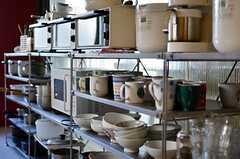 食器棚の様子。(2012-01-07,共用部,KITCHEN,1F)
