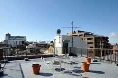 屋上の様子2。(2012-01-07,共用部,OTHER,4F)