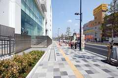 JR各線・浦和駅からシェアハウスへ向かう道の様子。(2008-04-03,共用部,ENVIRONMENT,1F)