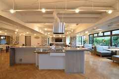 ラウンジ側にも1台キッチンがあります。(2015-10-13,共用部,KITCHEN,1F)