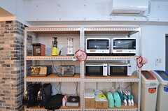 キッチン家電の様子。(2015-10-13,共用部,KITCHEN,1F)