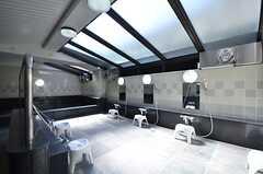 大浴場の様子。(2015-10-13,共用部,BATH,1F)