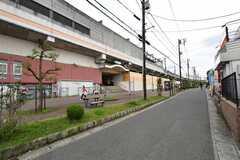 JR・与野本町駅の様子。(2020-10-14,共用部,ENVIRONMENT,1F)