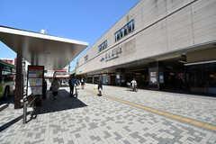 東武スカイツリーライン・草加駅の様子。(2021-03-23,共用部,ENVIRONMENT,1F)