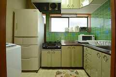 キッチンの様子。(2014-09-30,共用部,KITCHEN,2F)