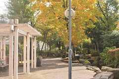 見沼代親水公園の様子。(2016-11-15,共用部,ENVIRONMENT,1F)