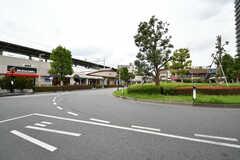 東武スカイツリーライン・谷塚駅の様子。(2020-10-07,共用部,ENVIRONMENT,1F)