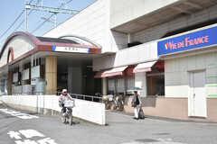 東武伊勢崎線・谷塚駅の様子。(2018-05-17,共用部,ENVIRONMENT,2F)