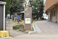 JR埼京線・戸田公園駅周辺の「戸田市こどもの国」の様子2。施設内にプールや公園が用意されています。(2020-02-20,共用部,ENVIRONMENT,1F)