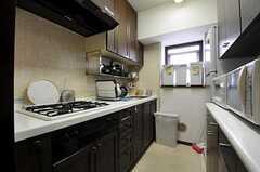 キッチンの様子。(2012-09-19,共用部,KITCHEN,6F)