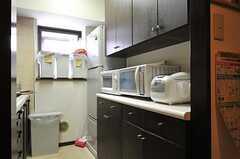 キッチン家電の様子。(2012-09-19,共用部,KITCHEN,6F)