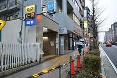 シェアハウスから各線・地下鉄成増駅の様子。(2015-01-21,共用部,ENVIRONMENT,1F)