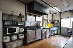 キッチンの様子。(2014-03-20,共用部,KITCHEN,1F)