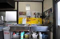 キッチンの様子3。(2014-03-20,共用部,KITCHEN,1F)