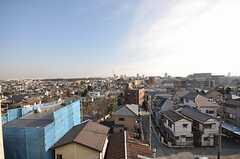 屋上のからの景色。(2009-02-12,共用部,OTHER,5F)
