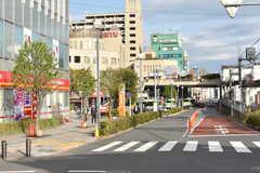 各線・成増駅周辺の様子3。(2017-04-12,共用部,ENVIRONMENT,1F)