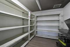 食料庫の様子。(2018-04-13,共用部,KITCHEN,1F)