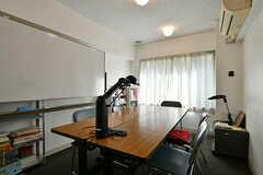 自習室の様子。9:00から22:00まで、自由に使えます。(2018-04-13,共用部,OTHER,1F)