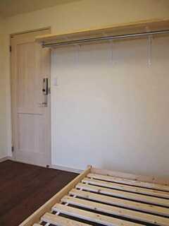 備え付け棚、パイプハンガーが設置されました。(事業者様コメント) ※事業者様提供素材(2012-03-12,専有部,ROOM,2F)