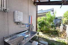 洗い場の様子。(2020-10-05,共用部,OTHER,1F)