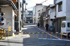 京阪京津線・上栄町駅前の様子。(2020-11-05,共用部,ENVIRONMENT,1F)