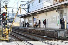 京阪京津線・上栄町駅の様子。(2020-11-05,共用部,ENVIRONMENT,1F)