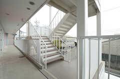 階段の様子。(2013-03-10,共用部,OTHER,2F)