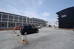 駐車場の様子。(2015-06-02,共用部,GARAGE,3F)