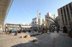 各線・浜松駅前の様子。(2015-12-09,共用部,ENVIRONMENT,1F)