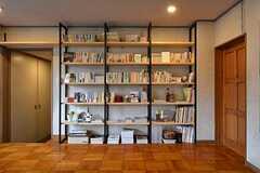 本棚の様子。(2016-01-20,共用部,OTHER,2F)