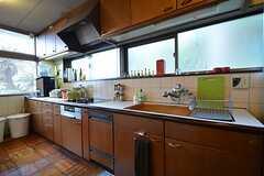 キッチンの様子。(2016-01-20,共用部,KITCHEN,2F)