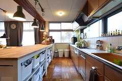 キッチンの様子2。(2016-01-20,共用部,KITCHEN,2F)