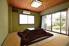 こちらの和室は共用部で、自由に利用できます。(2016-01-20,共用部,LIVINGROOM,2F)
